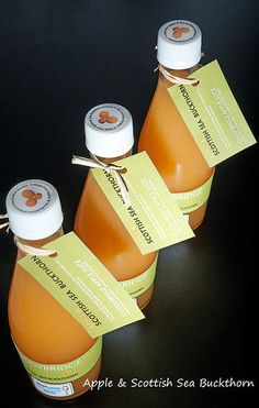 Cuddybridge apple and sea buckthorn juice