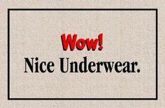 Amazon.com: Nice Underwear Doormat: Patio, Lawn & Garden