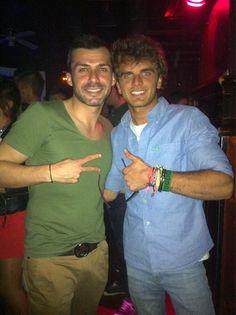 Con el gran hermano @DodoGh14 en #LaPosada después de la gala de #gh14 @Albertodelacru
