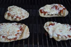 My tips for making pizza on the grill. Made them for dinner tonight!