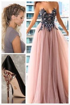 Pin by Ariane Nicolina on Artist persona in 2019 Pretty Prom Dresses, Cute Dresses, Beautiful Dresses, Formal Dresses, Ball Gown Dresses, Tulle Dress, Dress Outfits, Fashion Dresses, Quince Dresses
