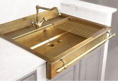 That sink!!! Segreto Secrets Blog - Brass