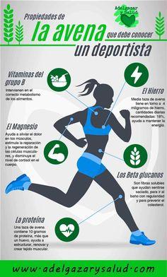 Las excelentes propiedades de la #avena que tiene que conocer un #deportista #nutricionysalud