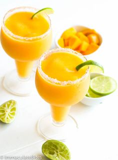 Mango Margarita — easy and flavorful fruity cocktail with mango and shots of tequila. Perfect for simple celebrations or holiday gatherings. Truly a refreshing summer cocktail! When it comes to fruits, it'd be pretty obvious by now that I'm deeply in love with the tropical ones — pineapples, coconuts, mangoes — those are …