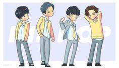 #s.coups #seungcheol #mingyu #wonwoo #vernon #에스콥스 #원우 #민규 #버논 #승철 #seventeen #kpop #fanart #fan-art #세븐틴