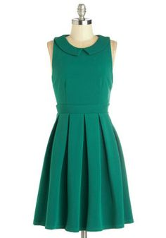 Love the structure of this dress | Schenley Park Picnic Dress, #ModCloth