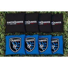 San Jose Earthquakes Cornhole Bag Set