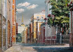 Картина Санкт-Петербург. Галерная улица