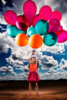 """BALLOONS: """"On a Helium Trip"""" shows all kinds of stunning, colorful, beautiful pictures of balloons! Take yourself back to when you were a kid and all you needed was a balloon to make you happy. Some awesome photo skills here..."""