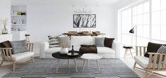 Salón estilo nórdico - Nordic style living room 1