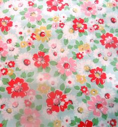 Cath Kidston Haberdashery Cotton Fabric Bright Pop FQ by MissElany