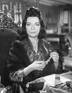 THE MOON-SPINNERS, Pola Negri, 1964