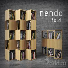 3DDD Model - Стеллаж Conde House: Fold 3dsMax 2013 + fbx (Vray) : Другое : Файлы : 3D модели, уроки, текстуры, 3d max, Vray