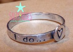 #saltykisses on Artfire   #ring                     #Sterling #silver #stacking #ring #personalized #hand #stamped #with #anniversary #dates #name #heart #round                      Sterling silver stacking ring personalized hand stamped with anniversary dates name heart round tag                               http://www.seapai.com/product.aspx?PID=374215