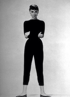 Audrey in black