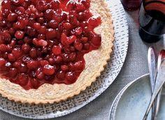 Brown Butter-Cranberry Tart Recipe