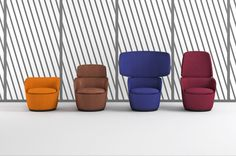 customizable Radar chair by Claesson Koivisto Rune for Casamania