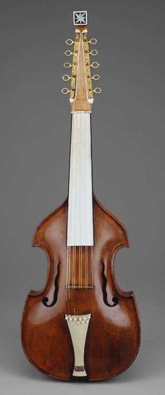 Viola de Cither (sultana) 1794, Irlanda - Museo de Bellas Artes, Boston