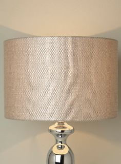 Hessian Weave Sheen Shade - shades  bases - Home, Lighting  Furniture