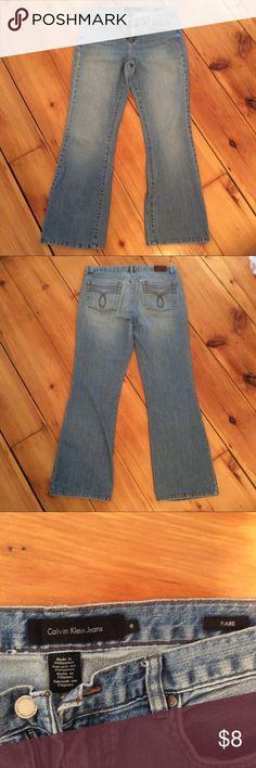 Calvin Klein Jeans size 10 Flare Calvin Klein Jeans Flare & Wide Leg
