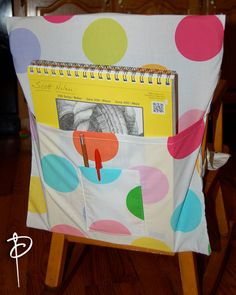 30 Seat Sacks  Chair Pockets Washable Multicolor by PaintedNeedle, $180.00