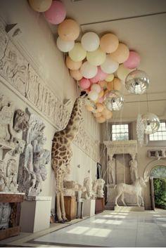 Pastel Balloon Wedding Decor
