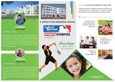 "2nd side design of 3 fold leaflet for ""VIGYAN GURUKUL SCHOOL"" #GraphicDesign #PrintDesign #designer"