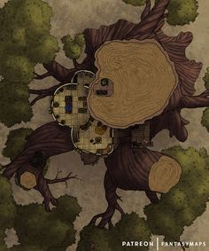 Fantasy Forest, Fantasy Map, Dnd World Map, Tree Map, Forest Drawing, Dnd Monsters, Dungeon Maps, City Maps, Fantasy Landscape