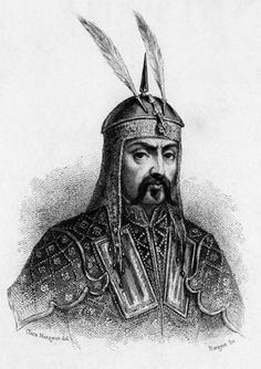 Genghis Khan. His destructive and genocidal invasions of the Middle East  Iran caused the death of millions of people.