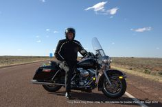Tony H, Day 5 Glendamobo to Coober Pedy #blackdogride
