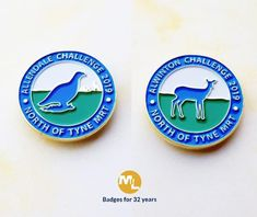To commemorate the North of Tyne Mountain Rescue event, these two badges are very nice, with gold plated detail & soft enamel infill. Name Badges, Pin Badges, Make Your Own Badge, Custom Badges, Charity, Enamel, Mountain, Detail, Nice