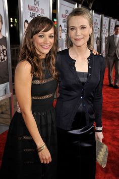 Peggy Lipton and Rashida Jones
