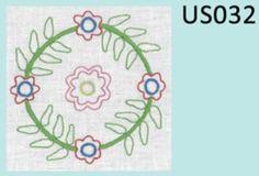United Stitches #32 Mini Stitchery - by Rosalie Quinlan