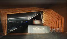 AZIMUTH stand by PARK/V, Odessa   Ukraine installation exhibition