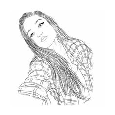 We Heart It ❤ liked on Polyvore featuring filler, we heart it, art, doodle, extra, outline and scribble