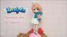 Semi realistic cartoon figure Clay Tutorial Pigrabbit_mtz OC