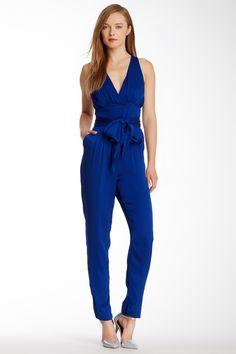 Catherine Malandrino Ema V-Neck Silk Blend Jumpsuit - Love!!!!!