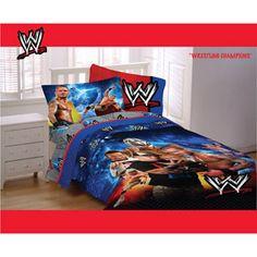 jordyn wwe wrestling champions bedding comforter - Wrestling Bedroom Decor