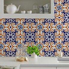 Azulejo decorativo Neocolonia