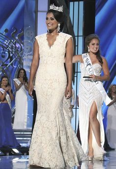 6 Wedding-Worthy Looks From the Miss America 2015 Pageant:  Nina Davuluri, Miss America 2014