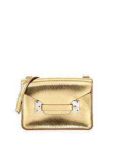 SOPHIE HULME Sophie Hulme. #sophiehulme #bags #shoulder bags #leather #crossbody #metallic #