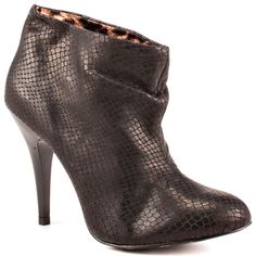 Love these booties w/ the leopard accent!