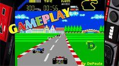World Grand Prix MASTER SYSTEM Gameplay