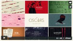 Títulos nominados Oscars