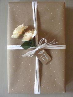 Something Ivory: DIY Gift Wrapping