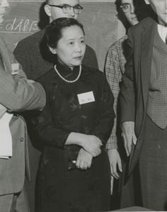"""Sometimes called the """"Queen"""" or """"First Lady"""" of physics, Chien-Shiung Wu was a Chinese-American nuclear physicist who famously solved the """"Tau-Theta Puzzle"""" that had confounded scientists. Margaret Hamilton, Florence Nightingale, Marie Curie, Mary Shelley, Chinese American, American History, Dolly Parton, Michelle Obama, Great Women"""