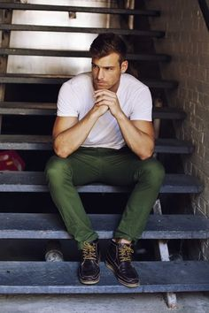 green pants | Raddest Looks On The Internet www.raddestlooks.net