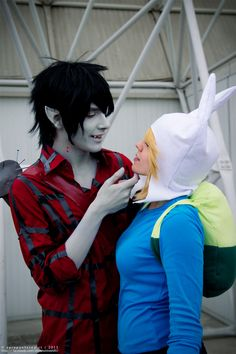 Marshall Lee and Fionna -- Adventure Time