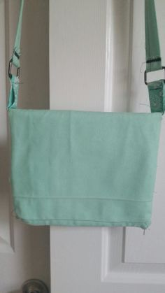 Check out this item in my Etsy shop https://www.etsy.com/listing/230185534/mint-crossbody-purse