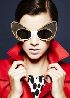 Photo: Brent Goldsmith \Editor: Elaine Jyll Regio | Hair\Makeup\ Nails: Andrew Elek | sunglasses, Mercura NYC